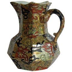 Mason's Ironstone Hydra Jug or Pitcher in the Bandana Pattern, circa 1870