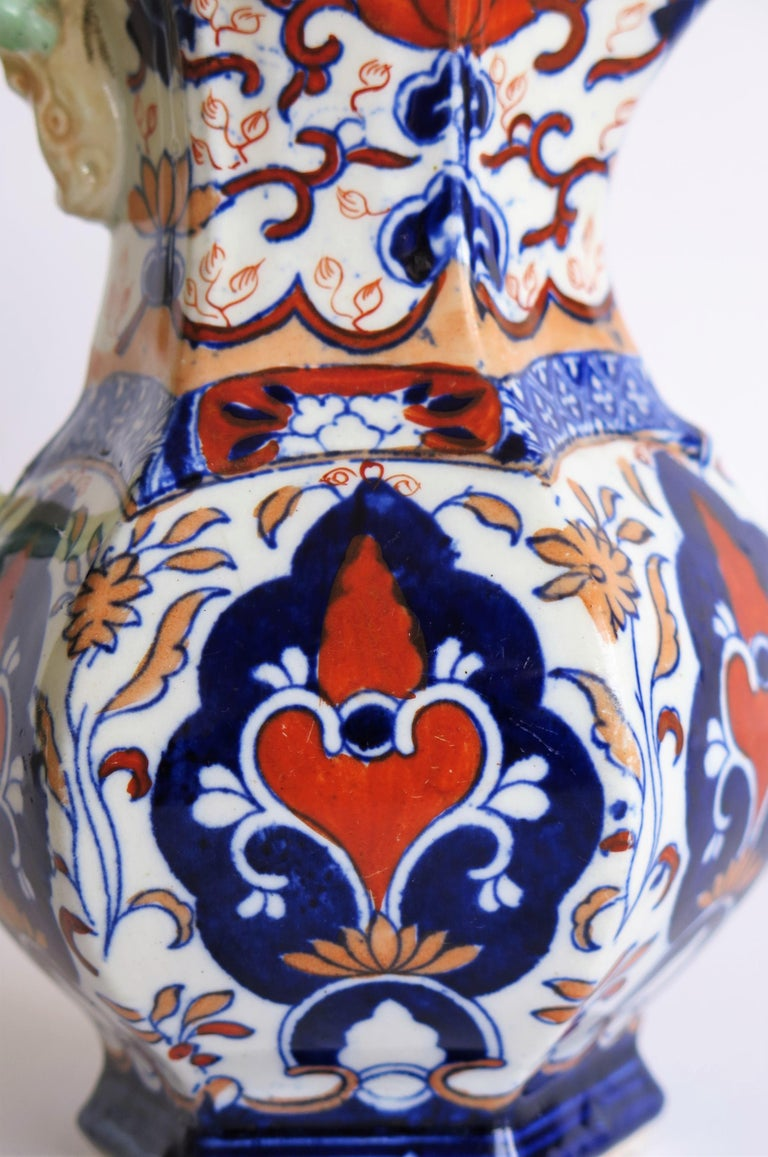 Mason's Ironstone Jug or Pitcher Rare Shape and Pattern 306, circa 1830 For Sale 9