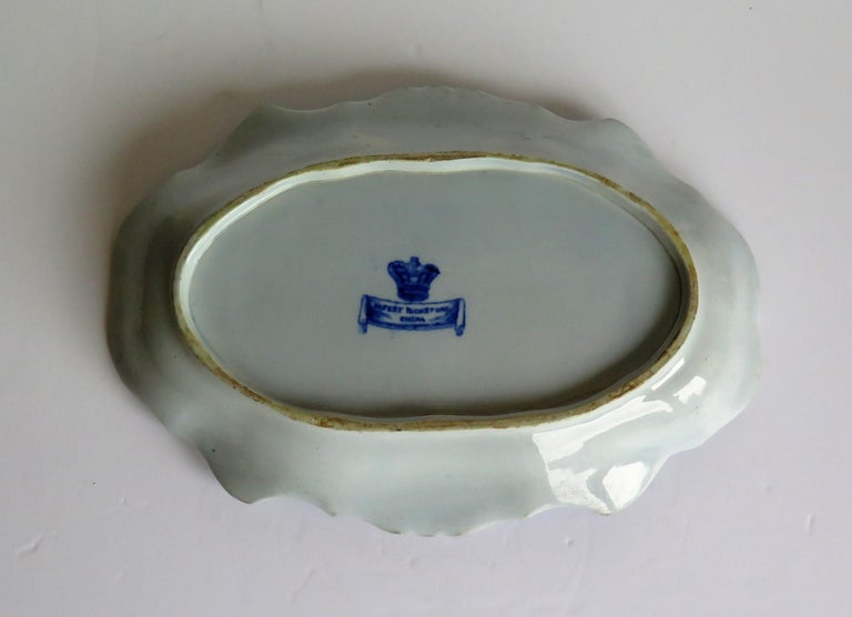 Mason's Ironstone Serving Dish Blue and White India Pheasants Pattern,circa 1820 For Sale 4