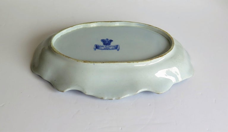 Mason's Ironstone Serving Dish Blue and White India Pheasants Pattern,circa 1820 For Sale 5