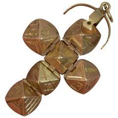 Masons Masonic Solid 9 Carat Gold Ball Fob or Pendant