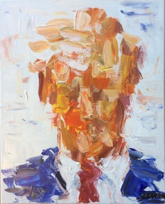 """""""The President Donald Trump"""" oil on canvas by Masri"""