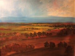 """""""Dreamy Tuscany"""" oil on canvas by Masri"""