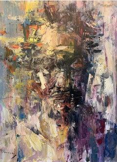 """Self-Portrait in the studio"" oil on canvas"