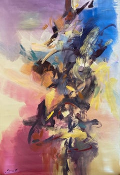 """""""Synergy"""" oil on canvas"""