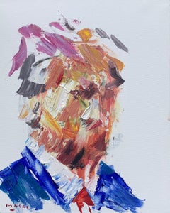 """""""The President"""" Oil on Canvas 16""""x20"""" by Masri"""