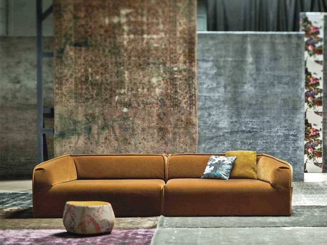 M.A.S.S.A.S Modular Sofa By Patricia Urquiola For Moroso In Fabric For Sale  4