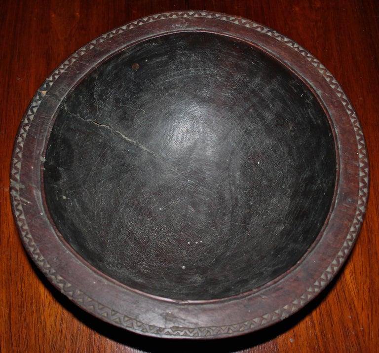 Oceanic Massim Food Bowl Trobriand Islands Papua New Guinea For Sale