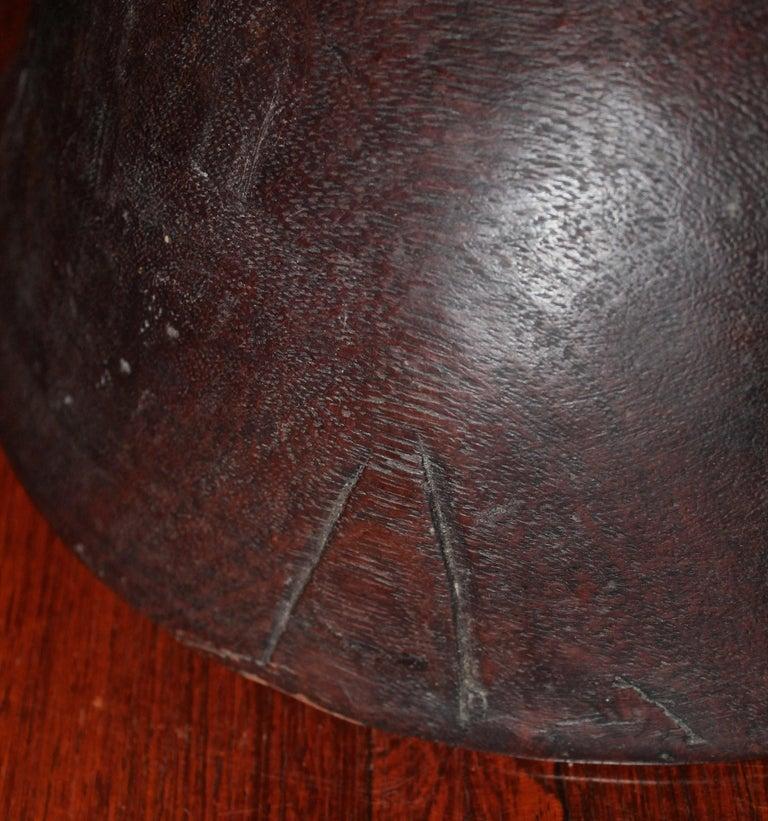 Wood Massim Food Bowl Trobriand Islands Papua New Guinea For Sale