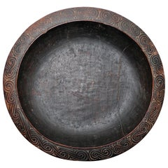 Massim Food Bowl Trobriand Islands Papua New Guinea