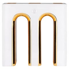 Massimo 24-Karat Gold Vase