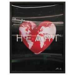 Massimo Agostinelli Heart Earth 2015 Anagrams Series Lenticular Print