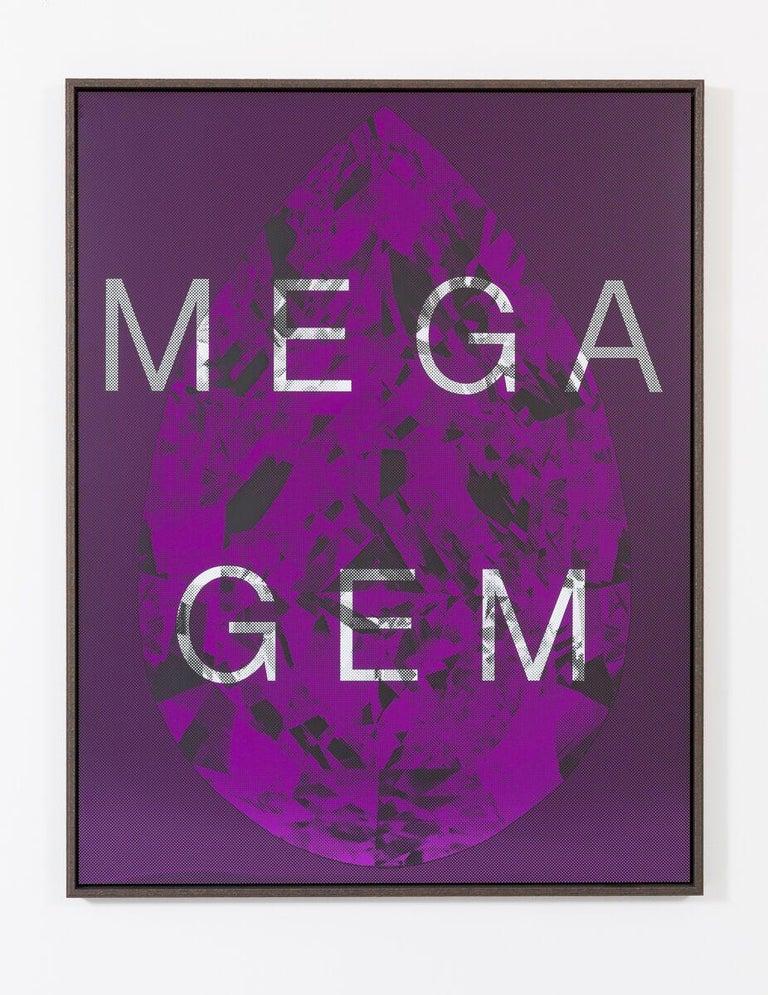 Mega Gem - Mixed Media Art by Massimo Agostinelli