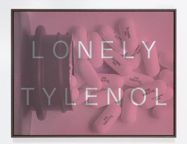 Massimo Agostinelli Abstract Print - Lonely Tylenol