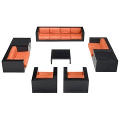Massimo and Lella Vignelli Large Saratoga Living Room Set