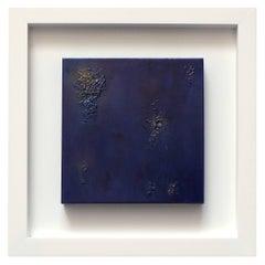 DEEP BLUE EMOTION - Massimo Caiafa Italian Abstract Mixed media on Canvas