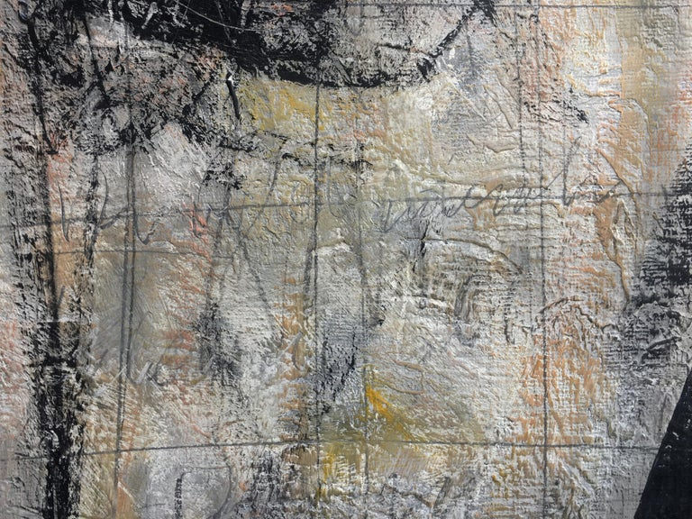 FOR YOU - Italian abstract oil on canvas painting, Massimo D'Orta For Sale 6