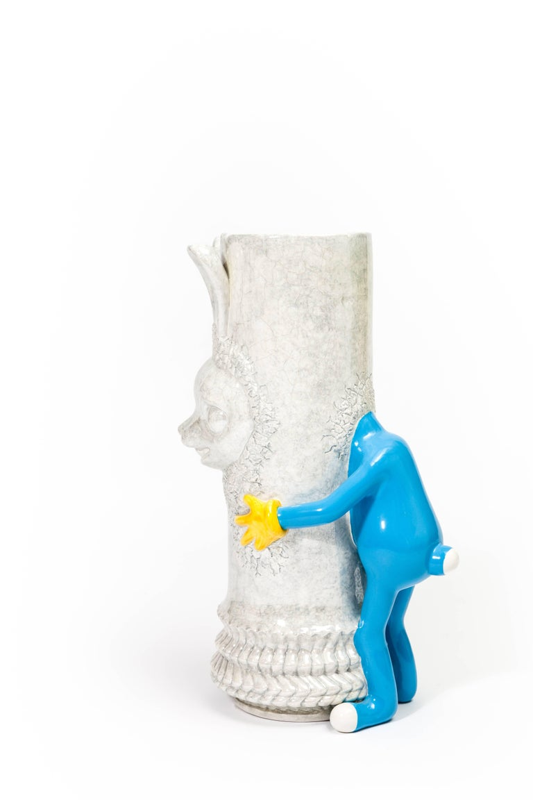 Limited edition ceramic sculpture part of the