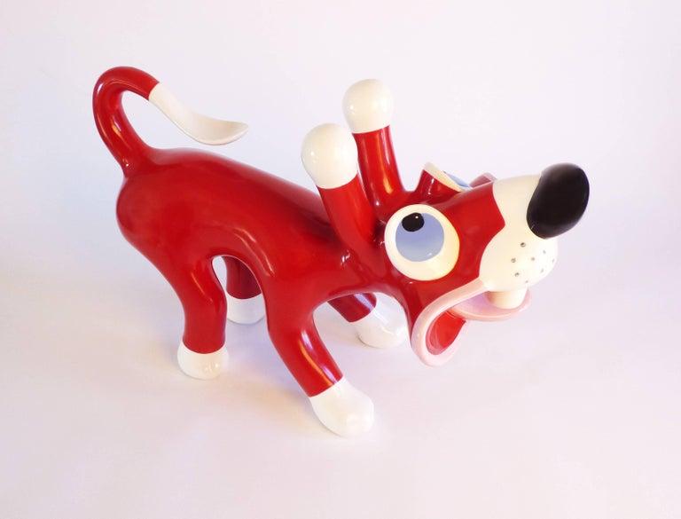 Italian Massimo Giacon Masocane Sculpture Superego Editions, Italy For Sale
