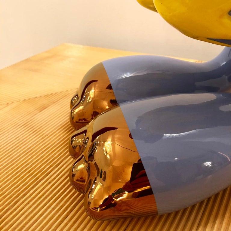 """Massimo Giacon Modern """"Coniglieschio"""" Italian Sculpture For Sale 3"""