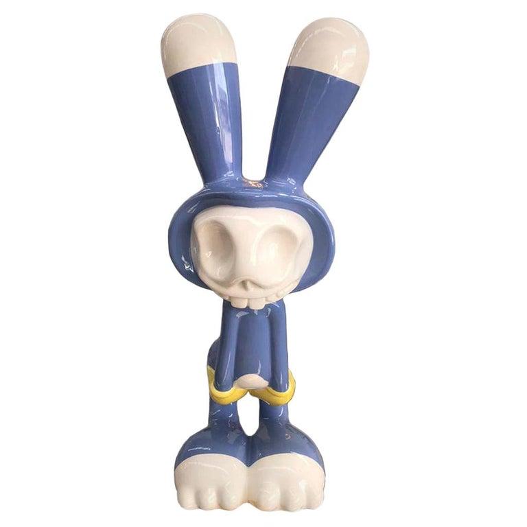 "Massimo Giacon's Edited by Superego Modern ""Coniglieschio"" Italian Sculpture For Sale"