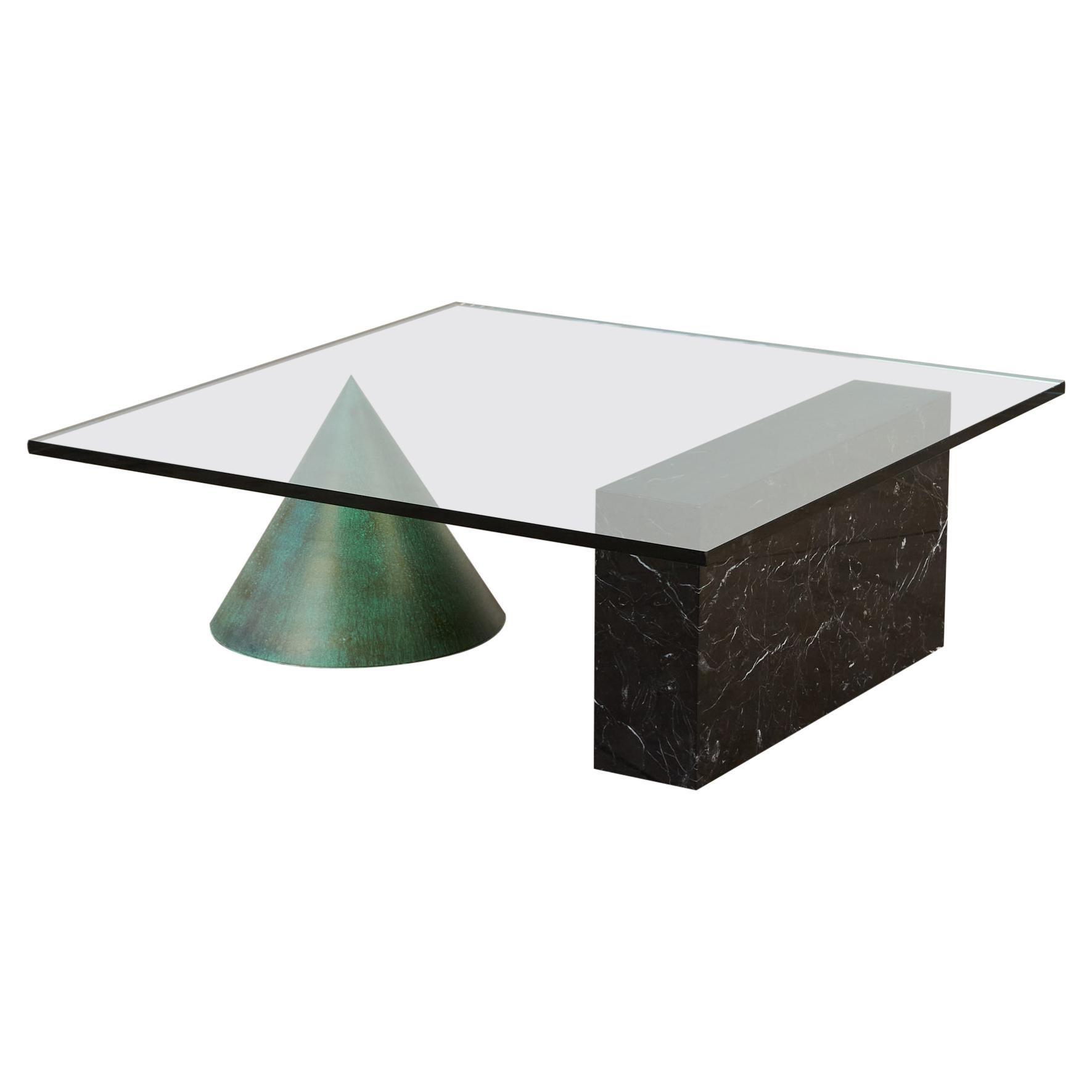 """Massimo & Lella Vignelli """"Kono"""" Coffee Table for Casigliani"""