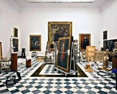 Massimo Listri 'Galleria degli Uffizi, La sala della Controriforma, Firenze'