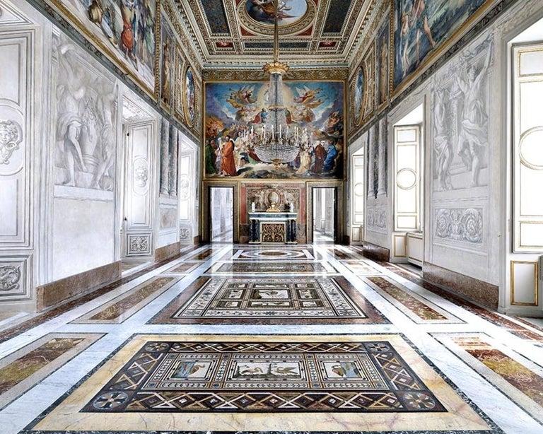 Massimo Listri Color Photograph - Sala degli Ambasciatori, Palazzo del Quirinale, Roma 2015