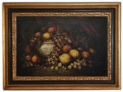 Still life - Massimo Reggiani  Oil on Canvas Italian Painting