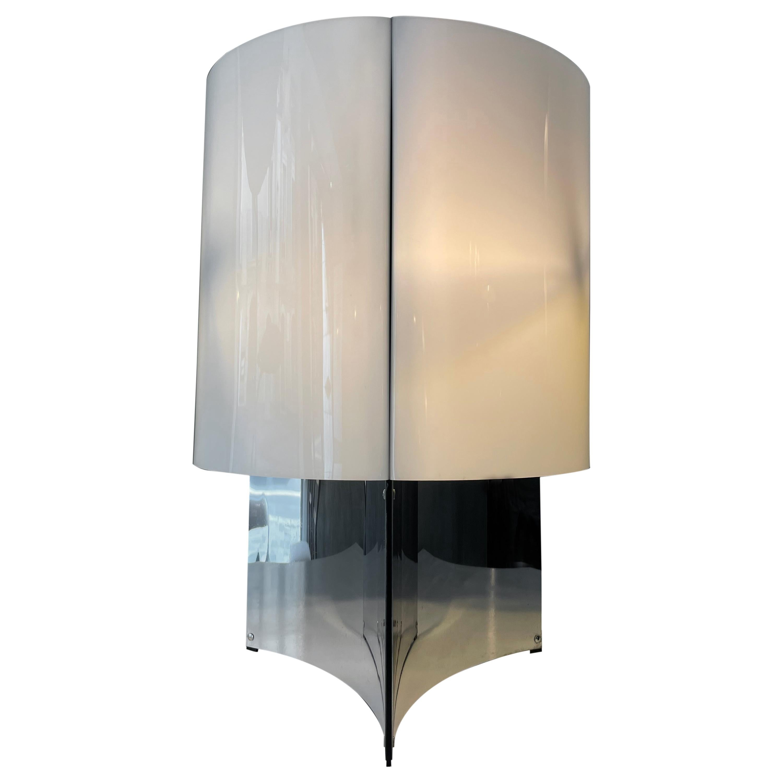 Massimo Vignelli Arteluce Mod. 526 Metal and Perspex Table Lamp, 1965