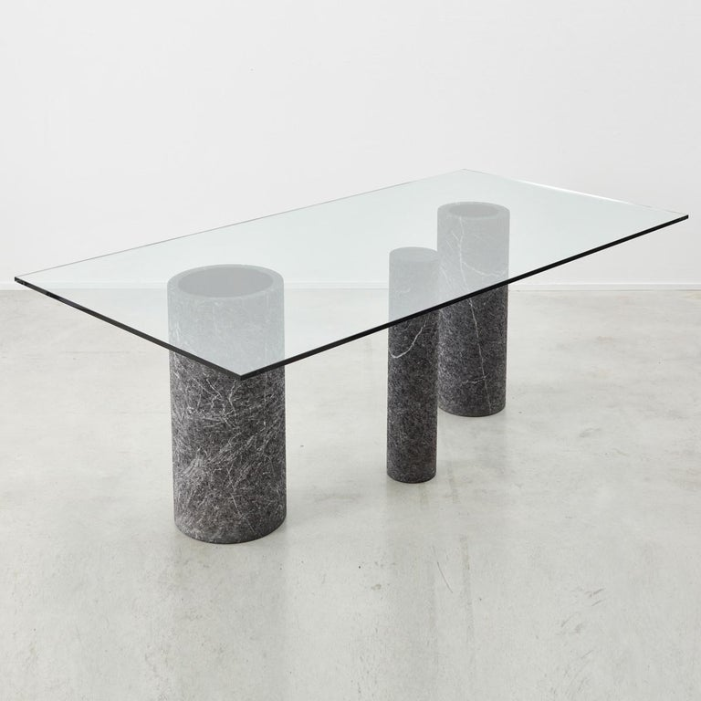 Mid-Century Modern Massimo Vignelli Dining Table For Sale