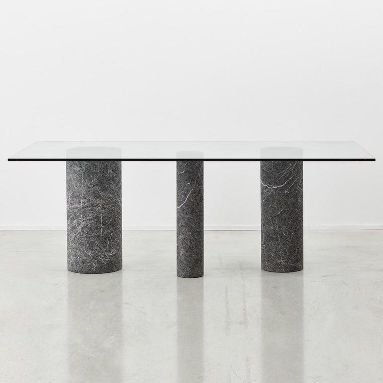 Italian Massimo Vignelli Dining Table For Sale