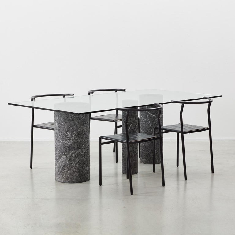 Massimo Vignelli Dining Table In Good Condition For Sale In London, GB