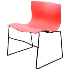 Massimo Vignelli for Knoll Postmodern Handkerchief Chair