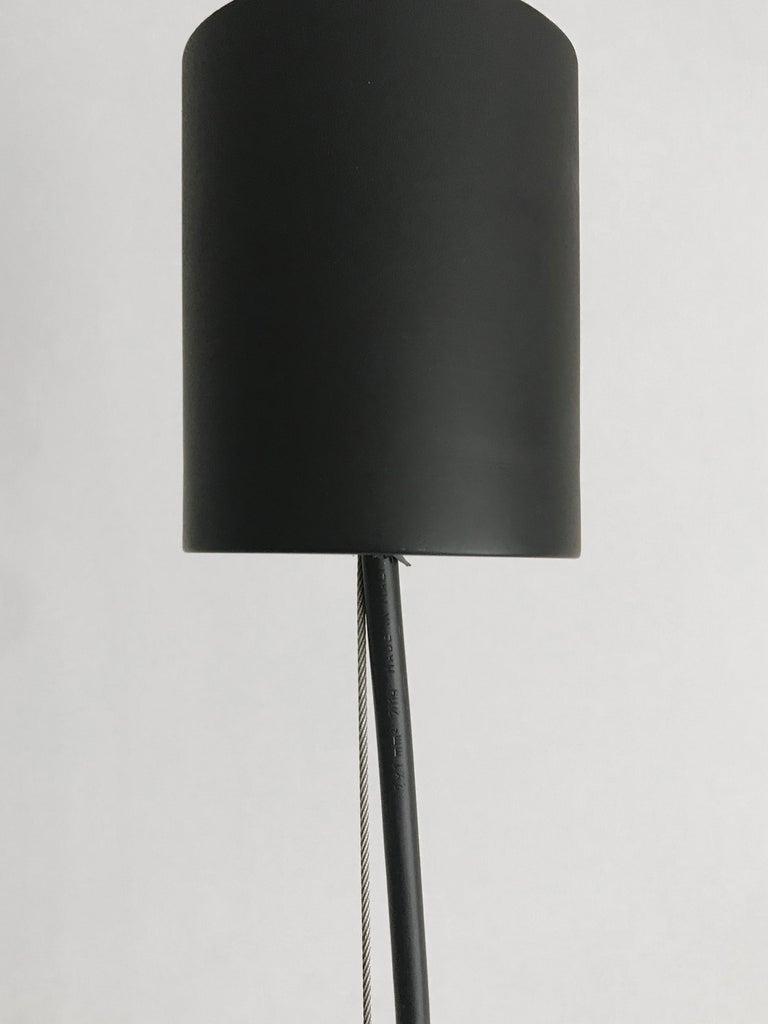 Massimo Vignelli for Venini Murano Italian Pendant Lamps, 1960s For Sale 8