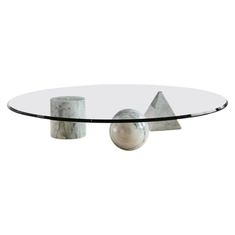 """Massimo Vignelli """"Metafora"""" Table for Casigliani Circa 1979 For Sale"""