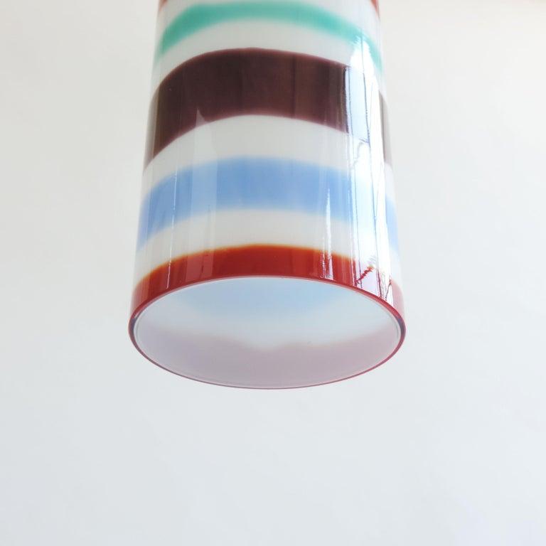 Italian Massimo Vignelli Pendant Lamp for Venini, Italy, 1950s For Sale
