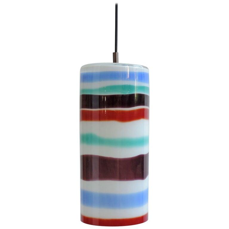Massimo Vignelli Pendant Lamp for Venini, Italy, 1950s For Sale