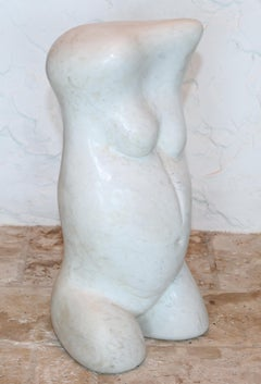 Carrara marble sculpture
