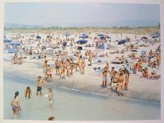 Massimo Vitali, Landscape with Figures Portfolio, Rosignano Diptych, 2006