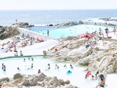 Massimo Vitali Piscina Das Mares (right), 2016 Large Format Color Photograph