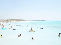 Massimo Vitali Spiagge Bianche 2020 Large Format Photograph