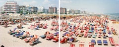 Riccione Diptych, from the portfolio Landscape with Figures