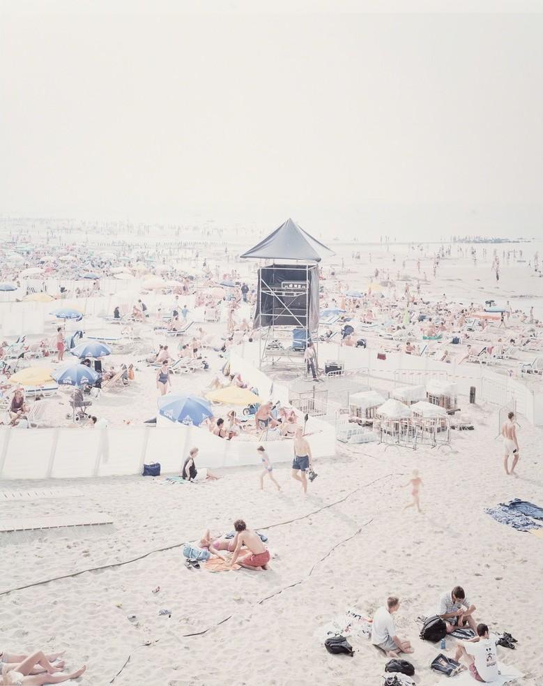 "Massimo Vitali, ""Knokke Beach V"", 2006 Limited Edition Print"