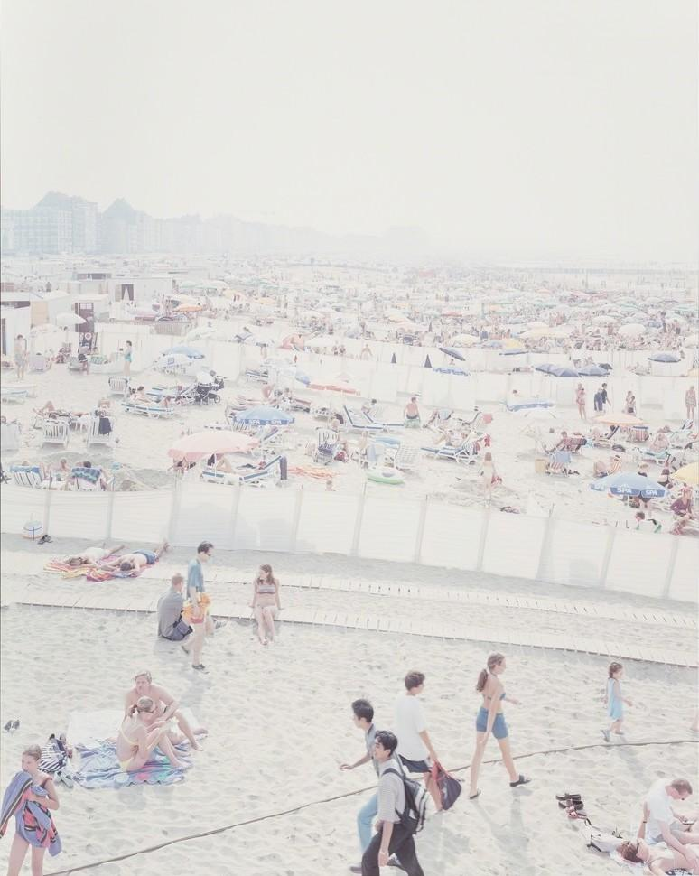 "Massimo Vitali, ""Knokke Beach, IV"", 2006 Limited Edition Print"