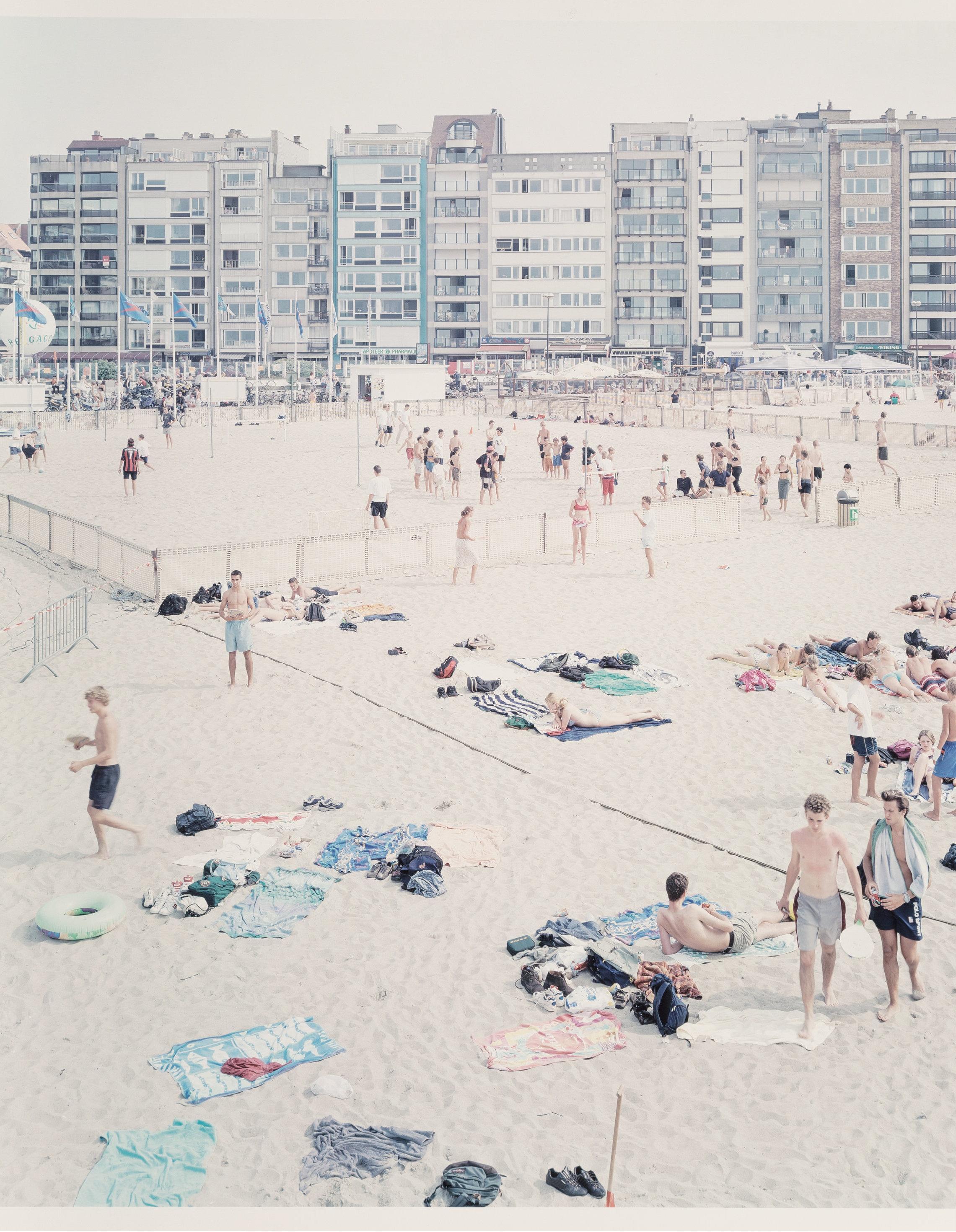 Massimo Vitali 'Knokke Beach' Artist's Proof Limited Edition Print