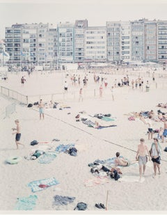 Massimo Vitali 'Knokke Beach' Artist's Proof Limited Edition Print
