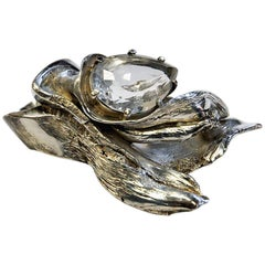 Massive and Beautiful Silverring by Inga Lagervall, Stockholm 1977