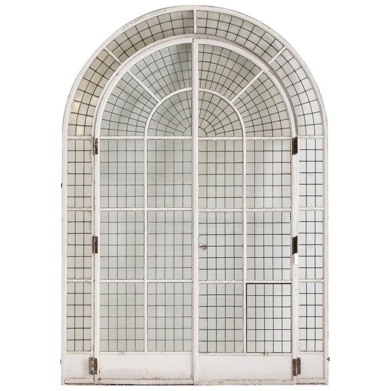 Massive Arched Doorway, England, circa 1900 For Sale