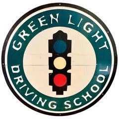 Massive Driving School Vintage Sign